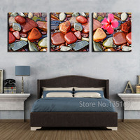 Home Decor CANVAS PICTURE Modern Decorative Art Small Colored Stones The Paintings On The Wall Panel