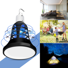 WENNI E27 Bug Zapper Mosquito Killer Light 220V Insect Lamp USB 5V Electronic Anti Fly Trap LED Bulb 110V Muggen