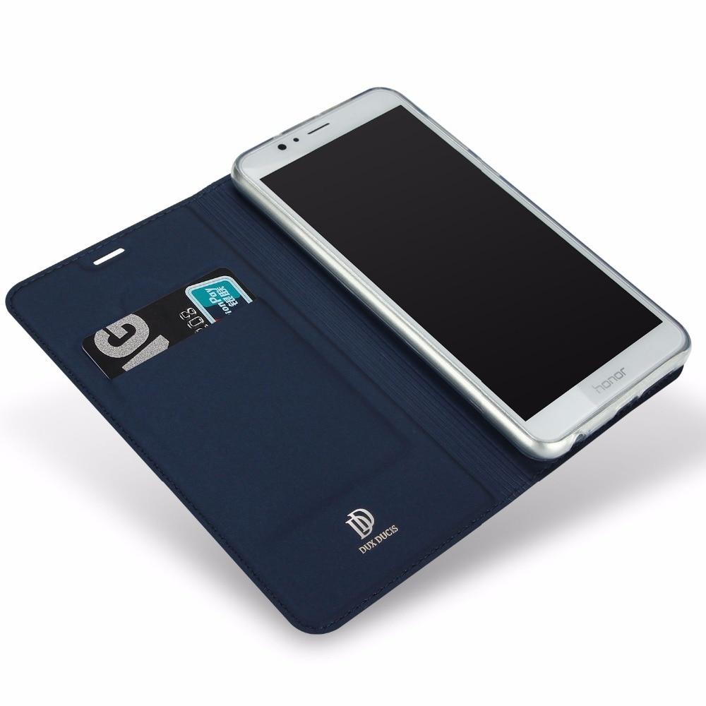 Fashion Kulit Kasus Untuk Huawei Honor 8 Lite Kasus Slim Luxury Card - Aksesori dan suku cadang ponsel - Foto 2