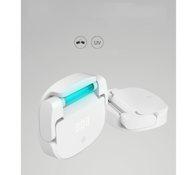 Toilet sterilization Ozone/UV 3 Timing Modes Wardrobe Shoe Cabinets Toy Jewelry Underwear Personal Care Appliances