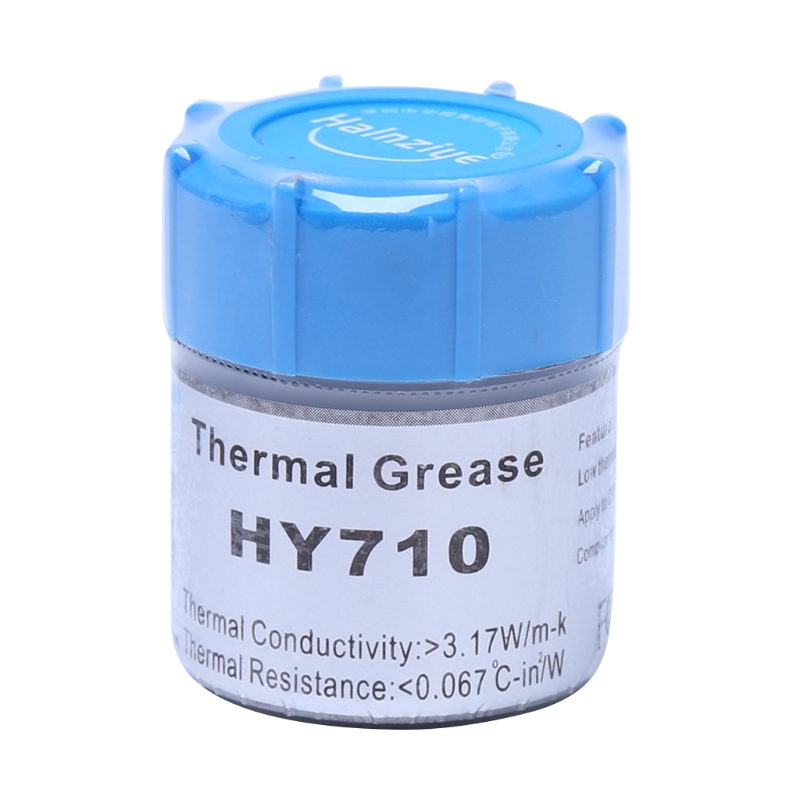10g HY710-CN10 Thermal Grease CPU Chipset Cooling Compound Silicone Paste 3.17W - L059 New hot 1pcs cpu gpu thermal silicone grease compound glue stars 922 new
