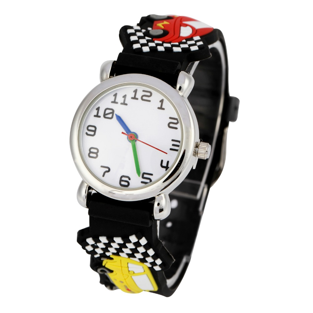 Watches Children Silicone Watch Brand Wl Quartz Wrist Watch Baby For Girls Boys Waterproof Kid Watches Football Fashion Casual Reloj Fixing Prices According To Quality Of Products