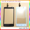 Оригинальный Новый Черный Белый Сенсорный Стеклянная Панель Для Philips Xenium W732 Сенсорный Экран Digitizer Замена мобильный Телефон