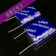 5,5 V 25f 30F condensador super combinación tipo farad condensador