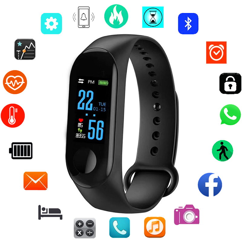 Sport Smart Watch Children Watches Kids For Girls Boys Wrist Clock Electronic Led Digital Child Wristwatch With Another Strap Children's Watches