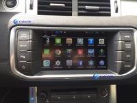 Android Car Radio DVD GPS Navigation Central Multimedia for Evoque Cheryevoque Range Rover Sport HSE Freelander 4 2013 2014 2015
