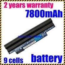 JIGU Высокое качество новый 9 клеток Аккумулятор Для Ноутбука Acer Aspire One D255 D260 522 722 AO722 AL10A31 AL10G31 черный бесплатная доставка