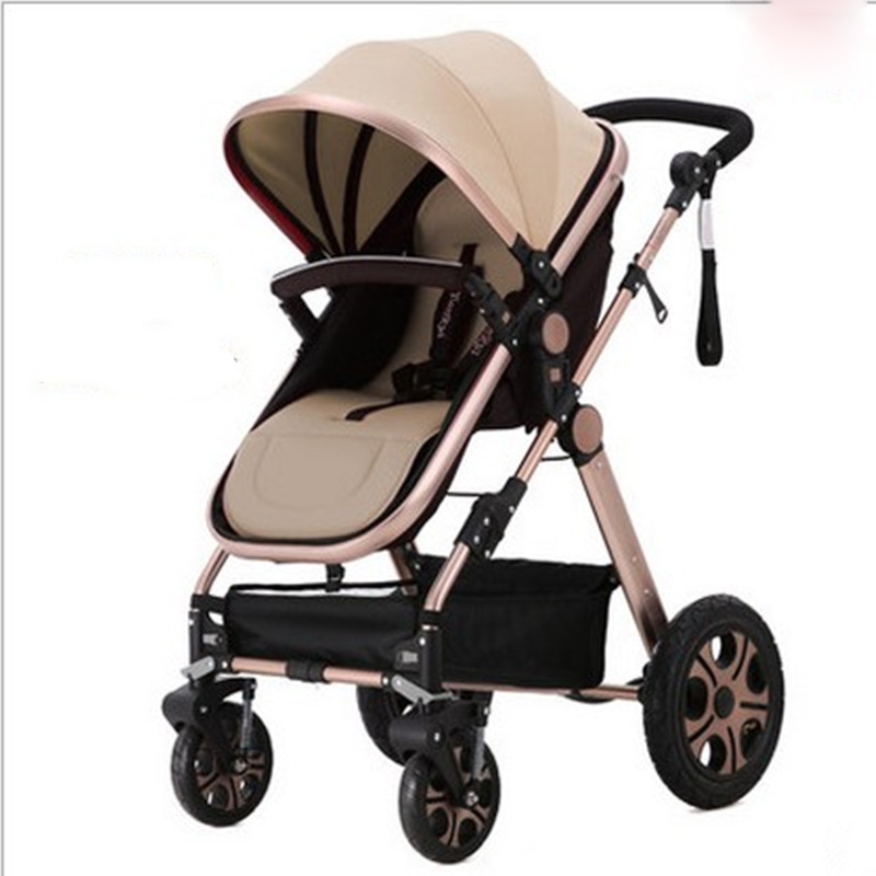 Hot Sale to Russia Baby carriages for newborns 3 in 1 can sit can sleep baby stroller 7 color BB car free shipping hot sale 1000ml roland mimaki mutoh textile pigment ink in bottle color lc for sale