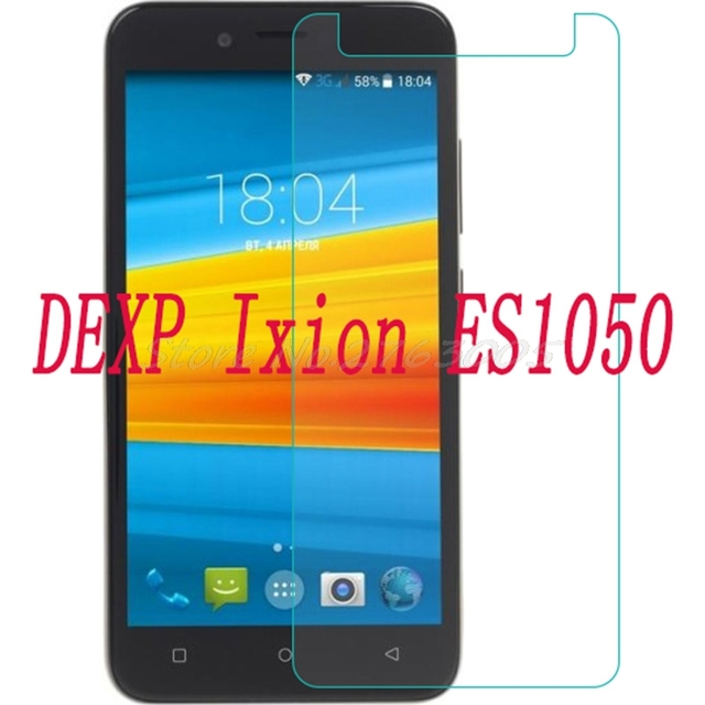"""2PCS NEW Screen Protector phone For DEXP Ixion ES1050 5.0""""   Tempered Glass SmartPhone Film Protective Cover"""