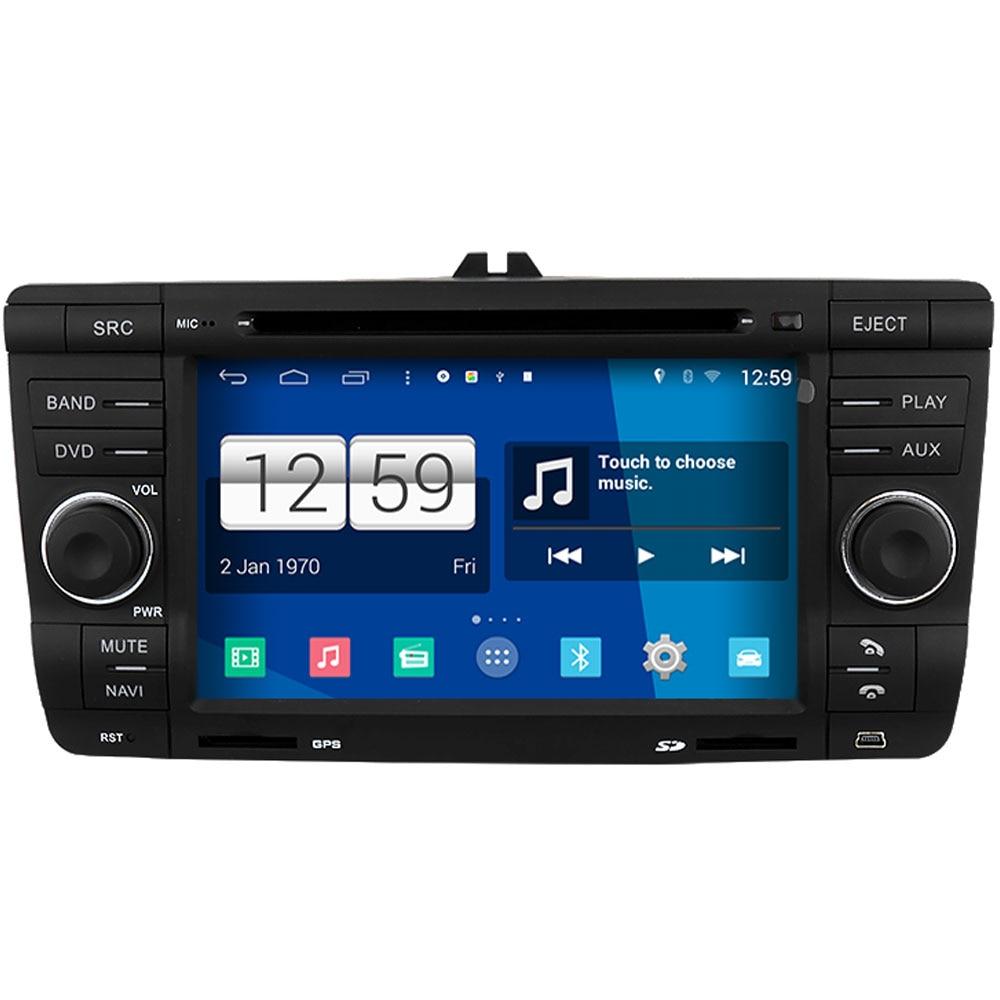 Winca S160 Android 44 System Car Dvd Gps Headunit Sat Nav For Goggle Snail Mx 18 Revo Red Skoda Octavia 2004 2010 With Wifi 3g Host Radio Stereo