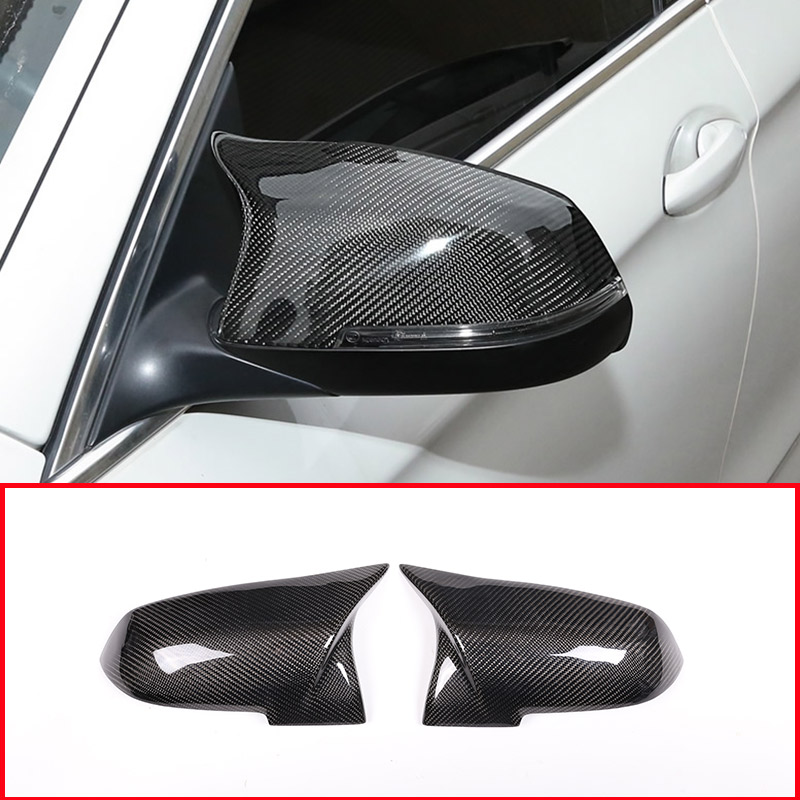 For BMW 2014-2016 5Series F10 F11 Replace M3 Carbon Fiber SIDE Mirror Covers