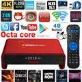 T95U PRO Android 6.0 Smart TV Caja Amlogic S912 Octa core BRAZO Cortex-A53 2 GB/16 GB Dual WiFi Banda VP9 UHD 4 K H.265 de Medios jugador