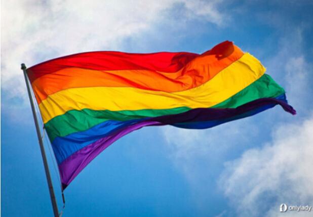 Bandera LGBT de Poliéster de Buena Calidad