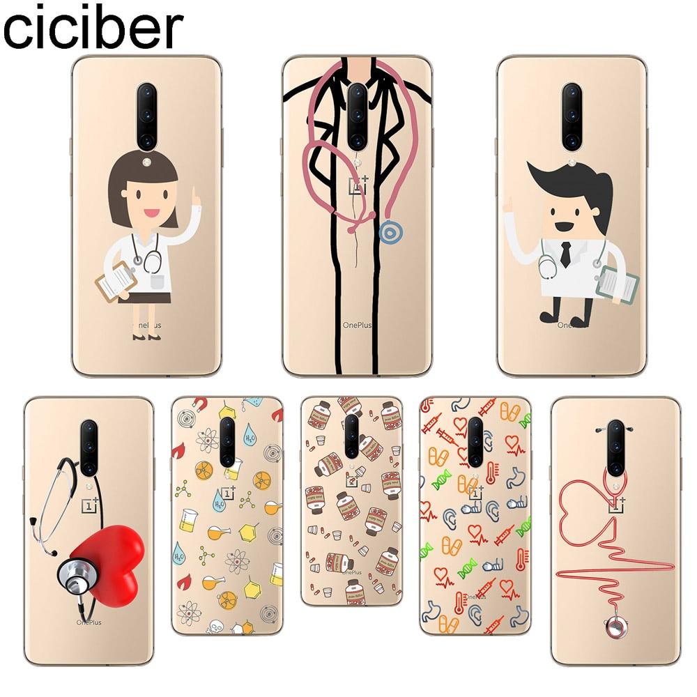 ciciber Doctors Heart Phone Cases For font b Oneplus b font font b 7 b font