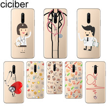 ciciber Doctors Heart Phone Cases For Oneplus 7 Pro 1+7 Pro Soft TPU Back Cover for Xiaomi 9 Coque For Redmi Note 7 6 Pro Funda