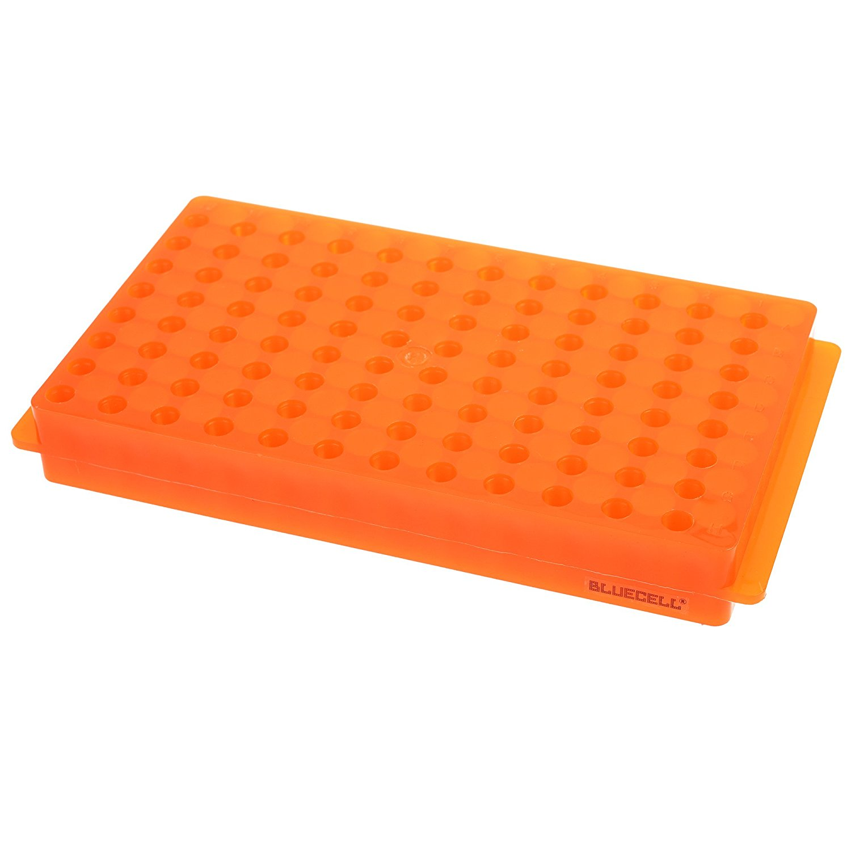96 Position Polypropylene Microcentrifuge PCR Tube Rack For CentrifugeTubes 0.2 Ml 0.5ml 1.5ml 2.0ml