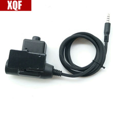 XQF Z-Tactical Mobile Version U94 PTT Cable for iPhone for Samsung for HTC Cellphone(China)