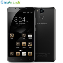 Blackview P2 Lite 5.5 inch Android 7.0 4G Smartphone MTK6753 Octa Core Mobile Phone 3GB 32G 13.0MP 6000mAh Fingerprint Scanner(China)