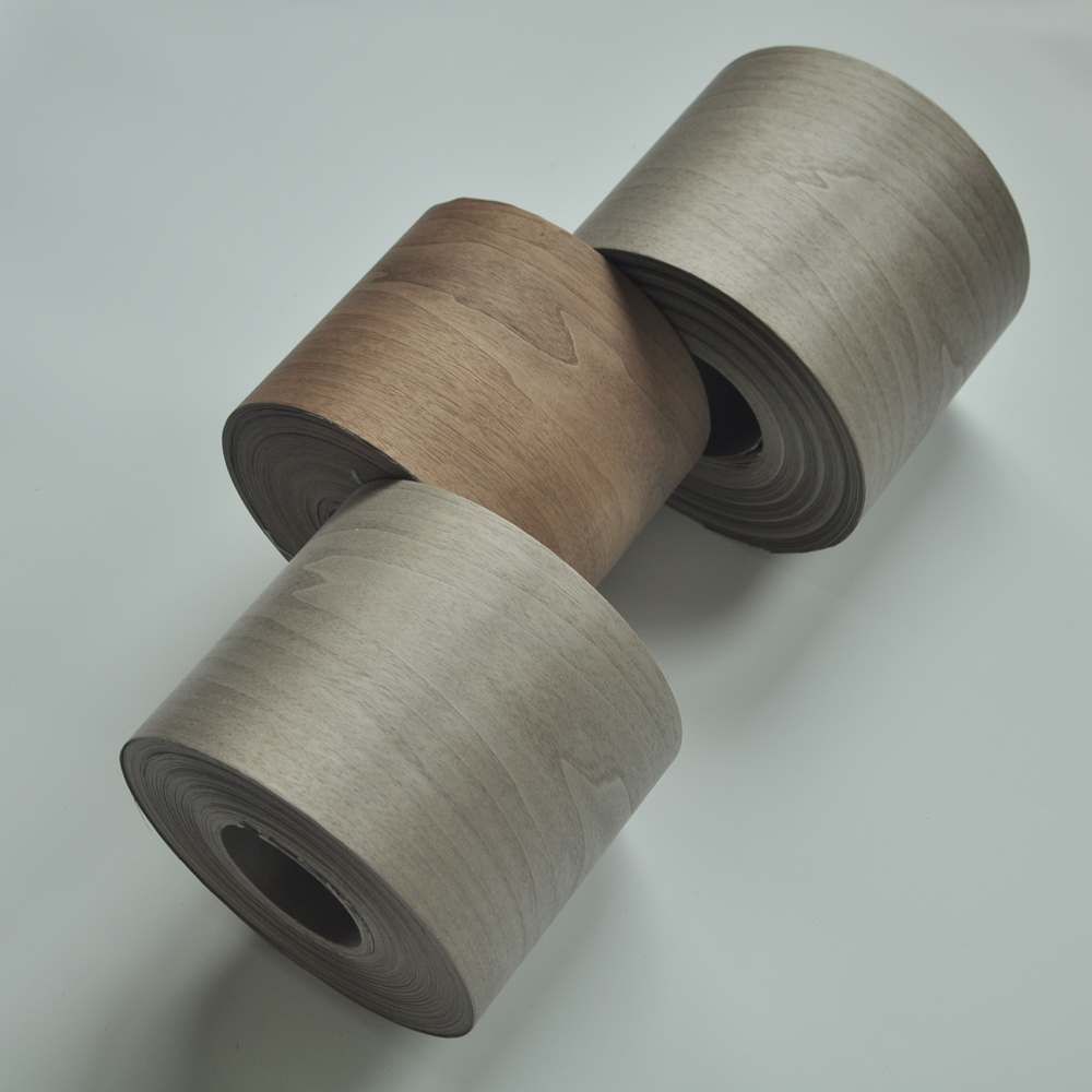 Dyed Grey Color Walnut Wood Veneer Dyed Grey Color Walnut Wood Veneer