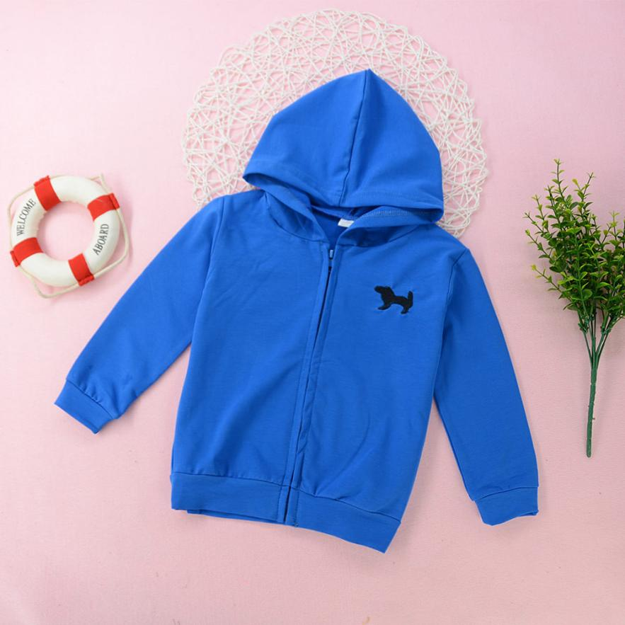 MUQGEW windbreaker for the boy cotton Hooded coat child girls top Outwear Casual winter jacket for girl coats and jackets