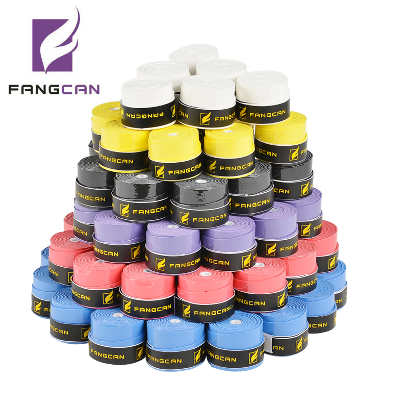 60 pcs FANGCAN FCOG 02 Skidproof Film Overgrip Super Tacky Overgrip for Badminton Racket Tennis Racket