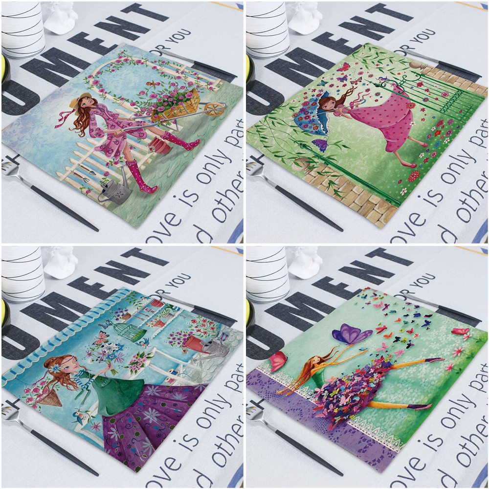 New 4 Paper Napkins Serviettes Collage Napkins B Crafts Supply Cute Lambs