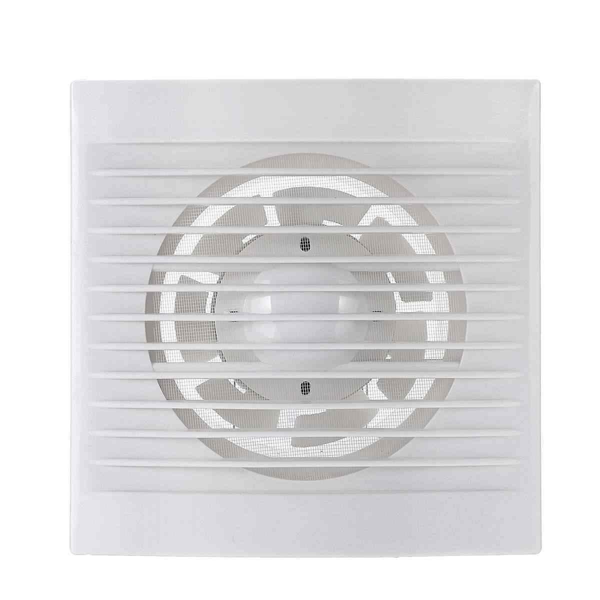 12 W 220 V 4/6 ''Auspuff Fan Wand Montiert Badezimmer Toiletten Belüftung Fans Geräuscharm Dunstabzugshaube für Küche air Vent