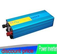 NEW 2000W 4000W Peak 12 24VDC To 110 220VAC Single Phase Pure Sine Wave Power Inverter