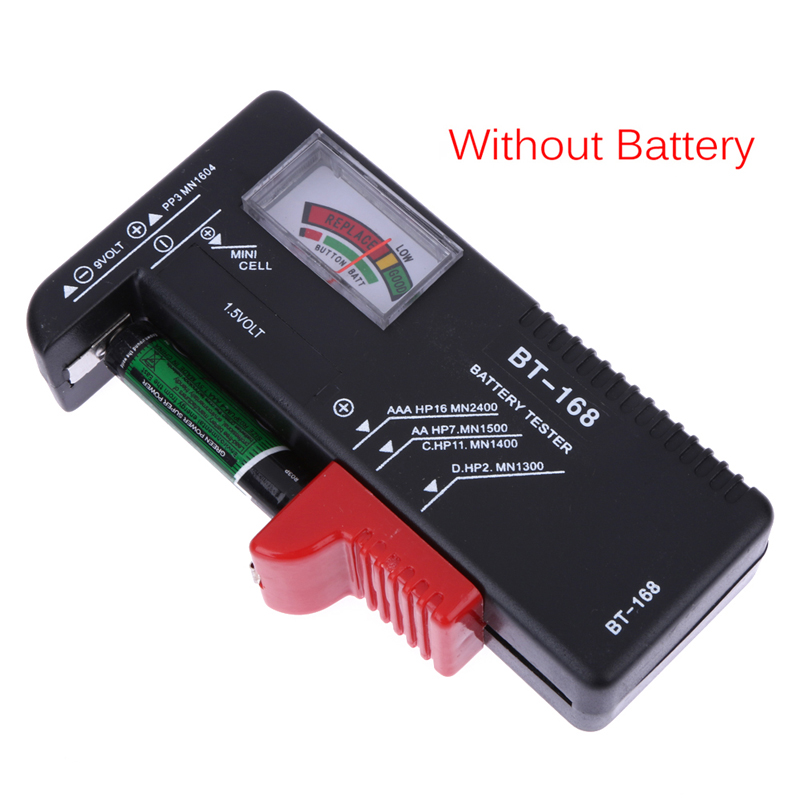 Universal Battery Volt Tester Checker Conditional Battery Checking Tester for AA/AAA/C/D/9V/1.5V Button cell Battery