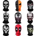 Nueva Skull Ghost x-men Deadpool Punisher Deathstroke Venom Spiderman Negro Pantera Grim Reaper Halloween Balaclava Full Face Mask