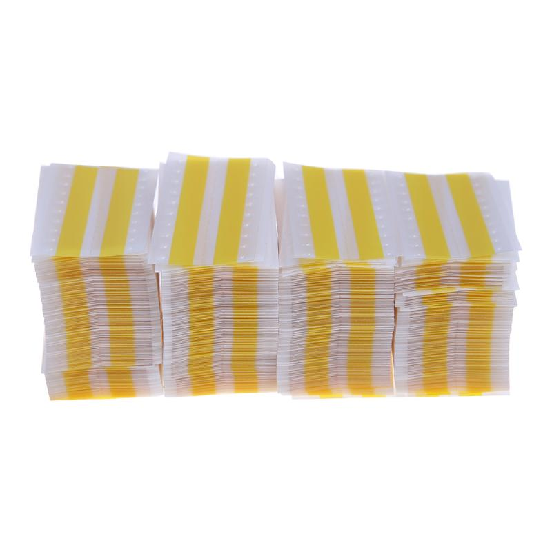 Cinta de empalme Rectangular de doble cara de 8mm SMT, cinta de unión de cinta de empalme con componentes de descanso exactos en amarillo ráster Deli, rodillo de cinta correctora para corrección Kawaii de gran capacidad, 30 M, suministros escolares multifuncionales, seguro para oficina de Estudiante