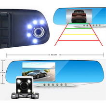 E-ACE Automotive Car Camera Dvr Night Vision 5 Led Lights