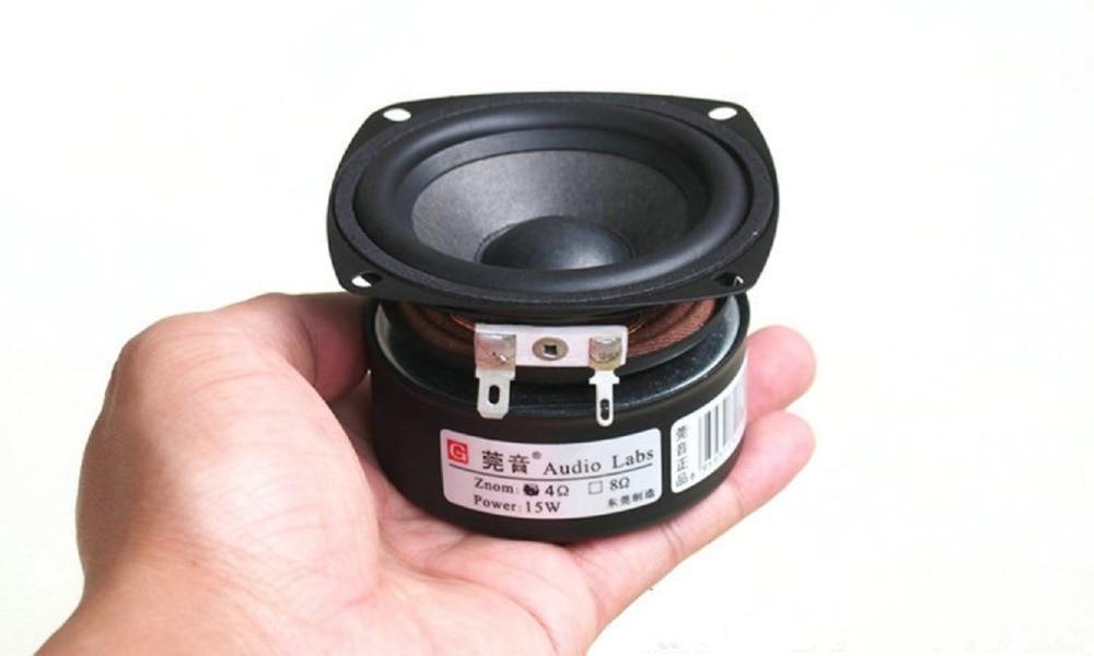 High Quality New 1pcs Full Range Hifi 3 Inch 4ohm 15w