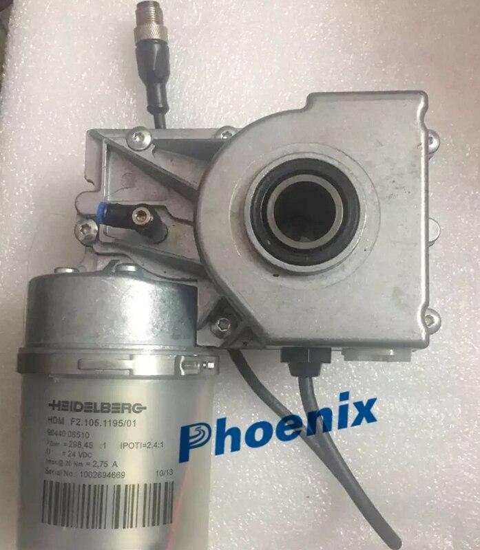 Pflichtbewusst Phoenix F2.105.1195 Original Deutschland Und Zweiter Hand Gebrauchte Heidelberg Motor 24 V