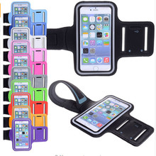 Smartphone Armband Running Gym Jogging Sports Arm Band Belt Pouch Bag Mobile Phone Wrist Fitness Case Cover For Huawei P9 Lite стоимость