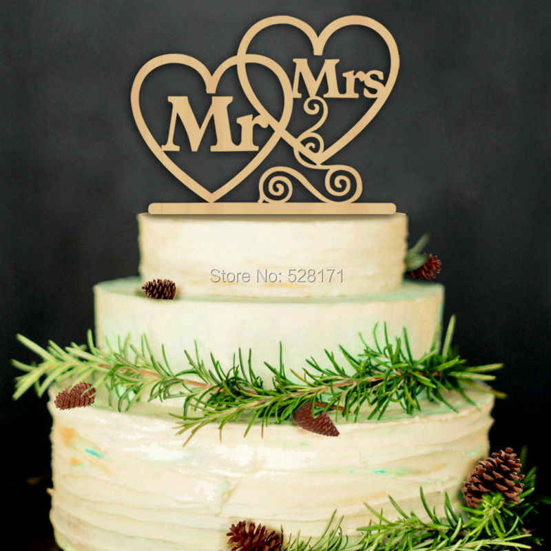 Wedding Cake Topper.Eco Friendly Wedding We Do Mr Mrs Wooden Cake Topper Rustic Wedding Cake Stand Natural Wood Cake Toppers Free Shipping