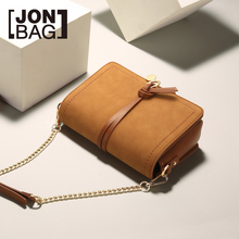 JONBAG chain small bag 2019 new fashion Korean version of chic womens with one-shoulder slanted shoulder in autumn