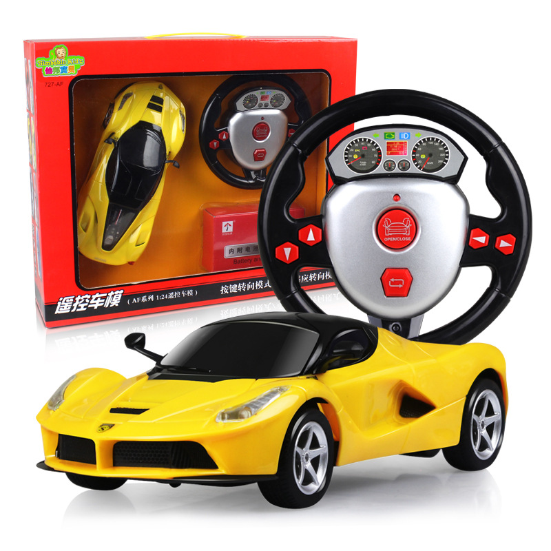 1:24 four remote control vehicle gravity induction steering wheel remote control , toy car, remote control cars,rc cars f1 remote control cars remote control cars children s toy car gifts for children