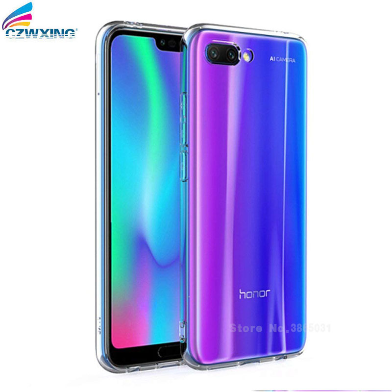For Huawei Honor 10 Case Silicone Transparent TPU Phone Case For Huawei Honor 10 Honor10 COL-L29 COL L29 Coque Back Cover 5.84