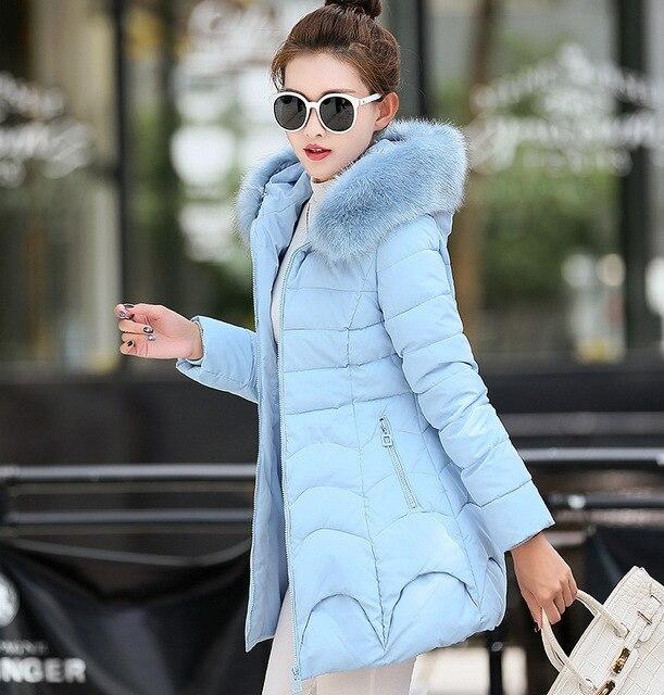 Manteau femme mulheres jaqueta casaco de inverno parka casacos de inverno para baixo mulheres casacos e jaquetas de pele 2016 plue tamanho parkas jaqueta feminina para
