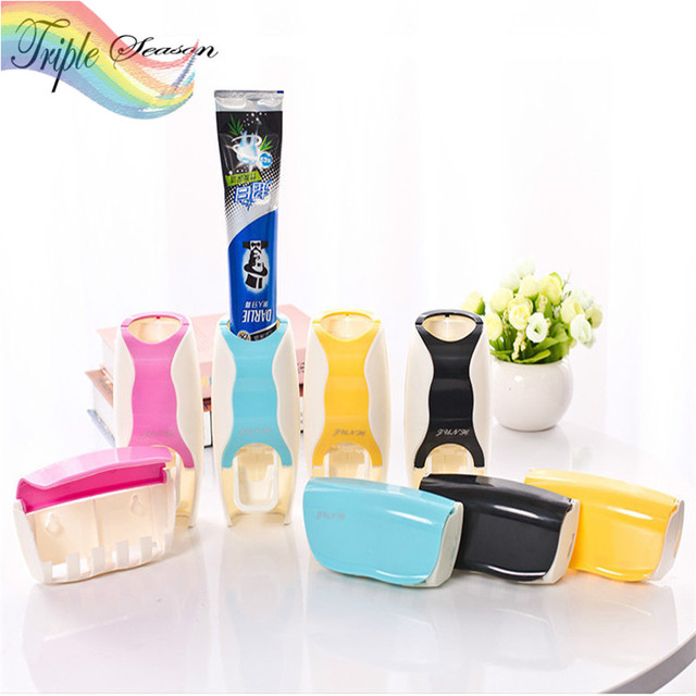 Tremendous Sale 2 Pieces Set New Candy Bathroom Accessories Sets Creative Automatic Squeeze Toothpaste Toothbrush Holder Ab0067S In Bathroom Accessories Sets Home Interior And Landscaping Fragforummapetitesourisinfo