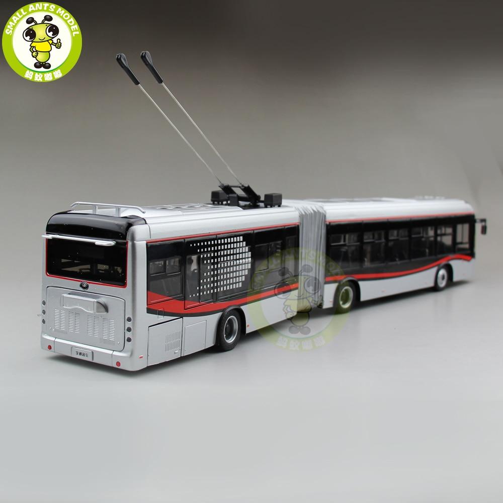 1/42 YuTong Bus ZK5180A Stadt Bus Trolleybus Gelenk bus Diecast Bus Modell Geschenk Sammlung Hobby-in Diecasts & Spielzeug Fahrzeuge aus Spielzeug und Hobbys bei  Gruppe 2
