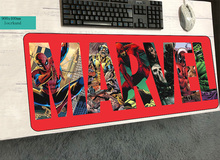 ziasmul Marvel Comics logo mouse pads 900x400x3mm to mouse notbook computer