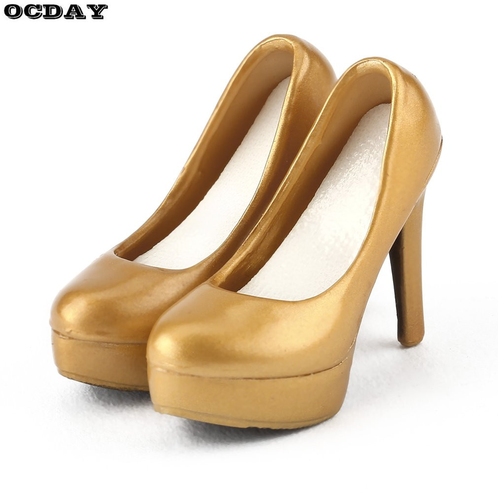 1:6 Female Soldier Simulation Stiletto High Heel Court Shoes
