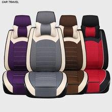 Los VIAJES en COCHE para opel corsa astra h g j opel insignia tela de lino tejido Ventile Delantero y Trasero Completo fundas de asiento de coche