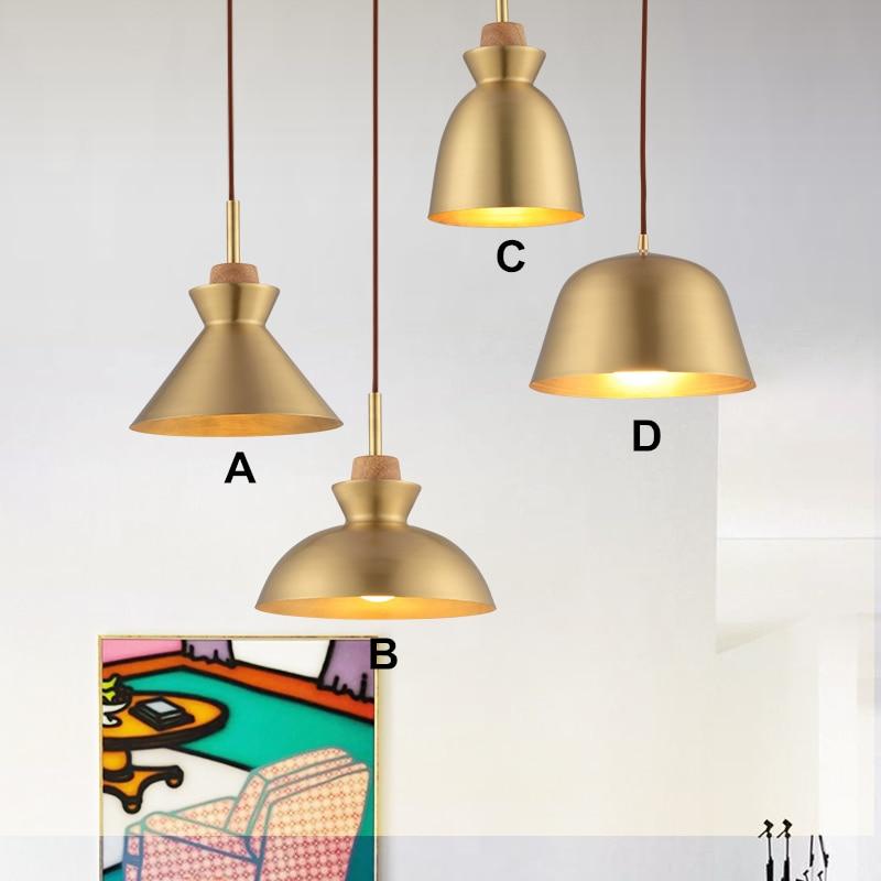 Restaurant lamp and lanterns, copper coffee shop, mcaron single head table lamp, single head bar lamp, Brass pendant light head lamp