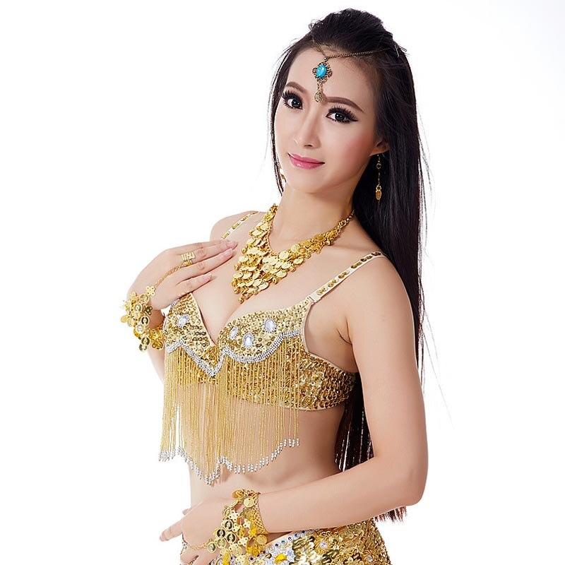 1 חתיכת ריקוד בטן נשים חזייה חזייה - מוצרים חדשים