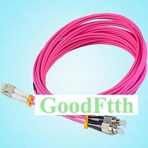 Image 1 - Fiber Optic Patch Cord Jumper FC LC LC FC Multimode OM4 Duplex GoodFtth 20 100 m