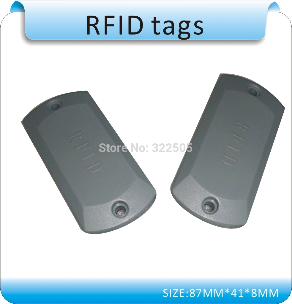 100pcs Specializing In The Production Of Metal Interference RFID Tags , 13.56MHZ M1 Chips , ISO14443A/15693