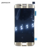 JIANGLUN For Samsung Galaxy S7 SM G930F LCD Screen Gold Color